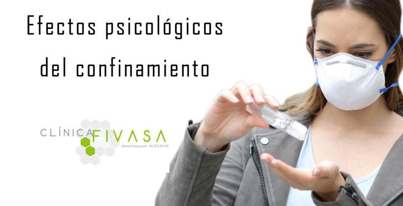 Efectos psicológicos del confinamiento por COVID-19